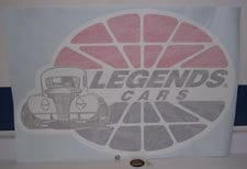 X-LARGE LEGENDS DECAL - TRAILER