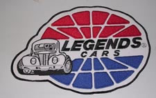 LARGE PATCH BACK OF SHIRT-LEGENDS