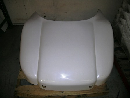 Z NOSE SECTION WHITE FIBERGLASS
